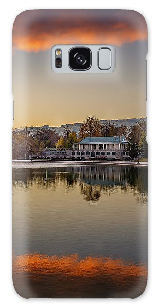 Delaware Park Marcy Casino Autumn Sunrise Galaxy Case