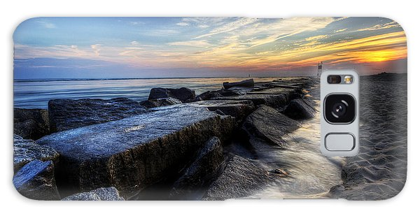 Delaware Sunrise At Indian River Inlet Galaxy Case