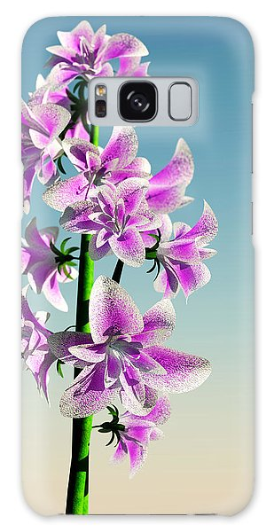 Delicate Flower... Galaxy Case