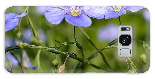 Delicate Lavender Flowers Galaxy Case by Eva Thomas