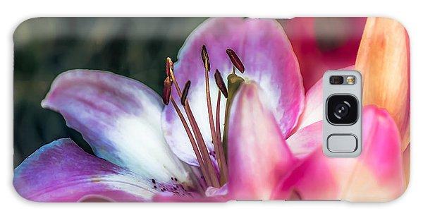 Delicate Lily Galaxy Case