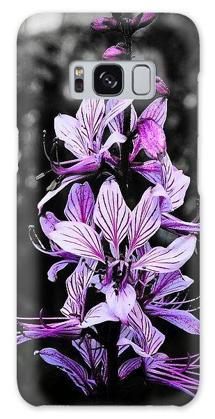 Delicate Violet Galaxy Case