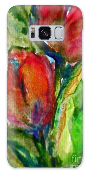 Delicious Tulips Galaxy Case