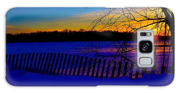 Delight Behind The Fence Galaxy Case by Zafer Gurel