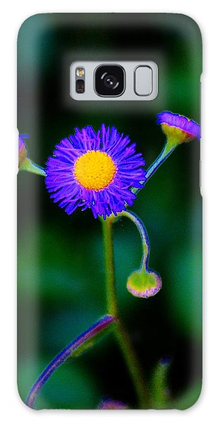 Delightful Flower Galaxy Case