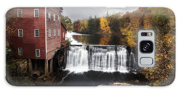 Dells Mill Fall Color Galaxy Case