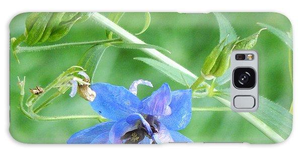 Delphinium Blossom Galaxy Case