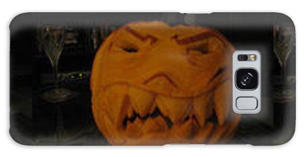 Demented Mister Ullman Pumpkin 3 Galaxy Case by Shawn Dall