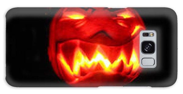 Demented Mister Ullman Pumpkin Galaxy Case by Shawn Dall