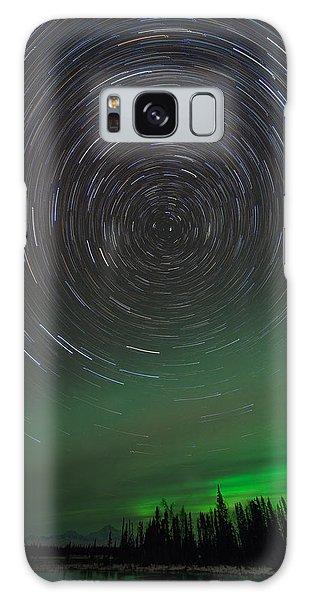 Denali Aurora Whirl Galaxy Case