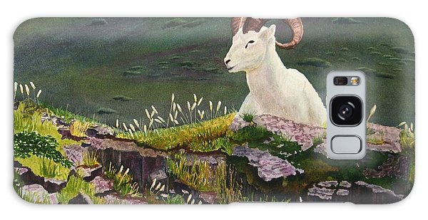 Denali Dall Sheep Galaxy Case by Mike Robles