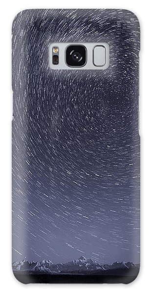 Denali Star Trails Galaxy Case