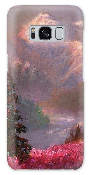Denali Galaxy Case - Denali Summer - Alaskan Mountains In Summer by Karen Whitworth
