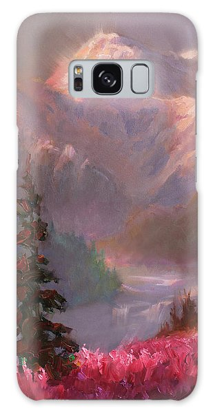 Denali Summer - Alaskan Mountains In Summer Galaxy Case