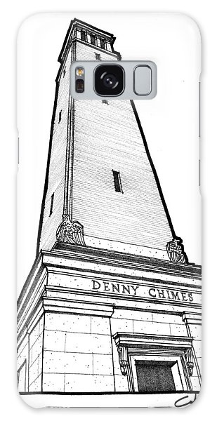 Denny Chimes Galaxy Case by Calvin Durham