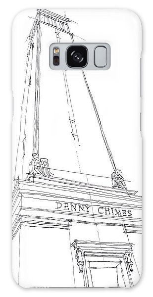 Denny Chimes Sketch Galaxy Case by Calvin Durham