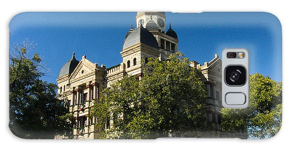 Denton County Courthouse Galaxy Case by Allen Sheffield