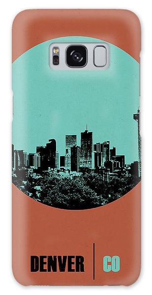 Downtown Galaxy Case - Denver Circle Poster 1 by Naxart Studio
