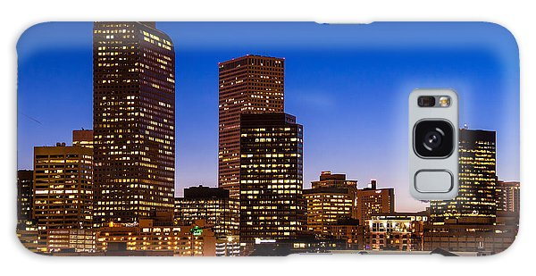 Denver Colorado Skyline At Blue Hour Mar 2013 Galaxy Case
