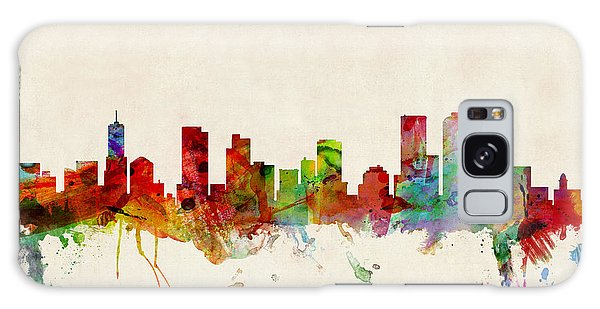Cityscape Galaxy Case - Denver Colorado Skyline by Michael Tompsett