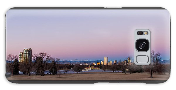 Denver Colorado Sunrise Galaxy Case
