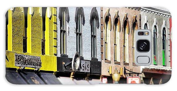 Denver Market Street Tilt Shift Galaxy Case by For Ninety One Days