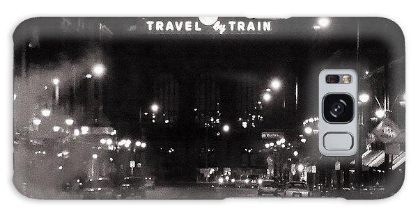 Denver Union Station Square Image Galaxy Case