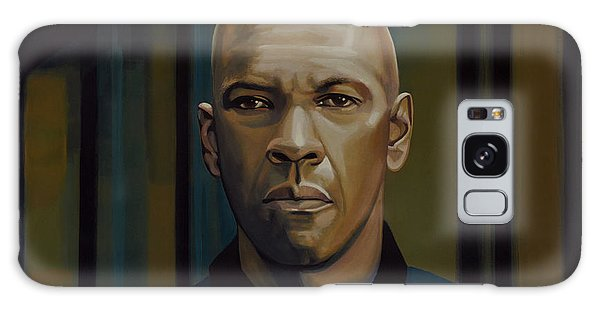 Safe Galaxy Case - Denzel Washington In The Equalizer Painting by Paul Meijering