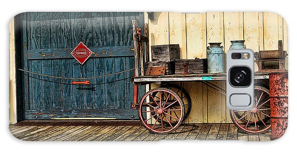 Depot Wagon Galaxy Case by Kenny Francis