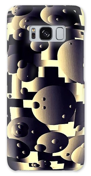 Depth Of Thought Galaxy Case by Susan Maxwell Schmidt