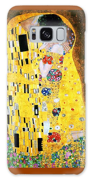 Symbolism Galaxy Case - Der Kuss Or The Kiss. by Pg Reproductions