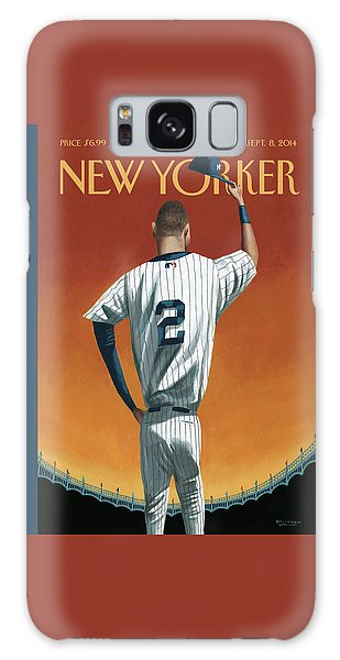 Derek Jeter Bows Out Galaxy S8 Case