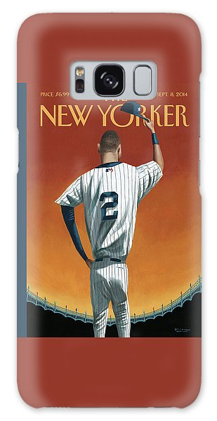 Derek Jeter Bows Galaxy Case