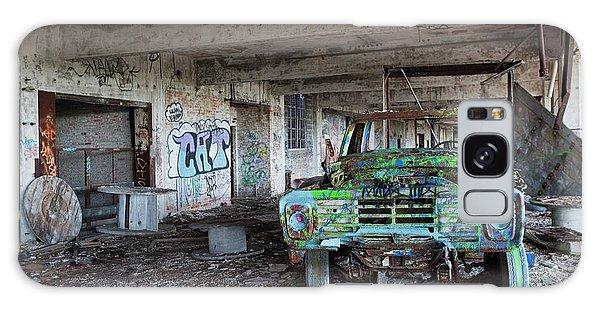 Motor City Galaxy Case - Derelict Car Factory by Jim West