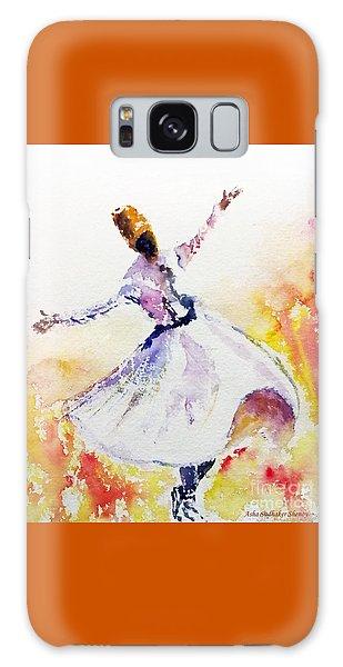 Sufi  Or Dervish Dancer Galaxy Case