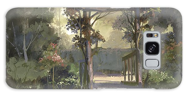 Descanso Gardens Galaxy Case by Michael Humphries