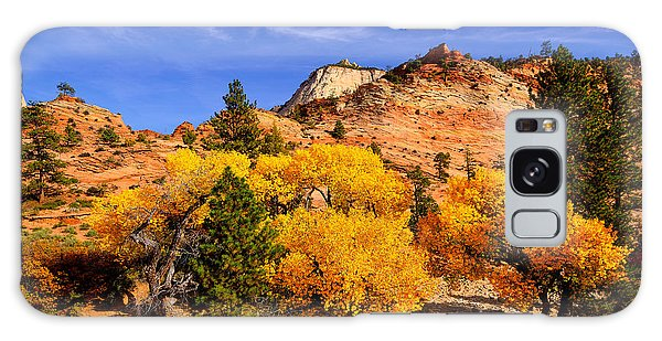 Desert Autumn Galaxy Case by Greg Norrell