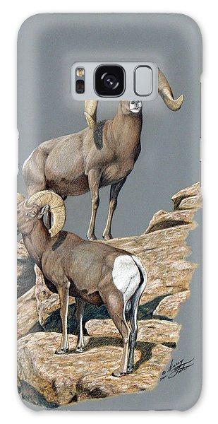 Desert Bighorn Rams Galaxy Case