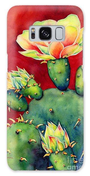 Bloom Galaxy Case - Desert Bloom by Hailey E Herrera