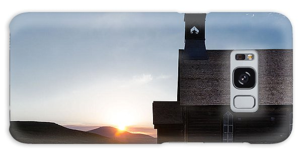 Desert Church  Galaxy Case