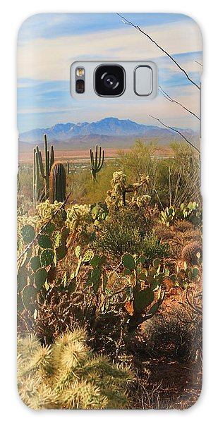 Desert Day Galaxy Case by Alicia Knust