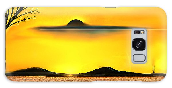 Desert Eclipse Galaxy Case by Yul Olaivar