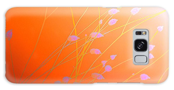 Desert Flowers Galaxy Case by Holly Kempe