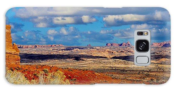 Desert Landscape Galaxy Case