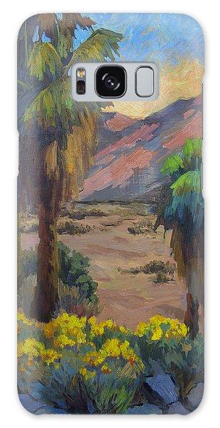 Desert Marigolds At Andreas Canyon Galaxy Case