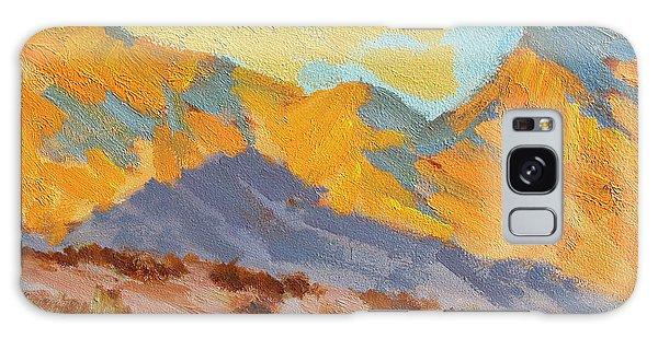 Desert Morning La Quinta Cove Galaxy Case