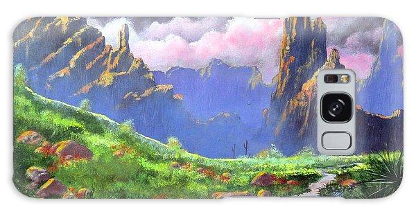 Desert Mountains Galaxy Case
