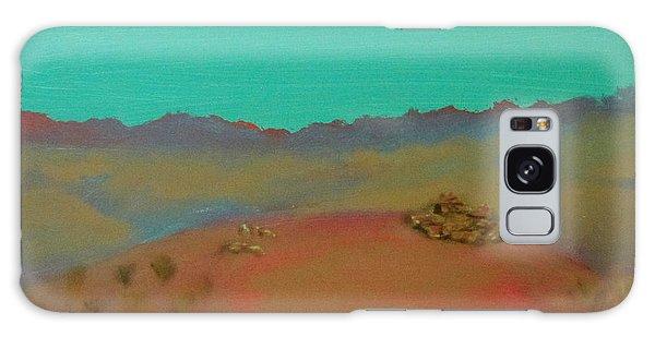 Desert Overlook Galaxy Case