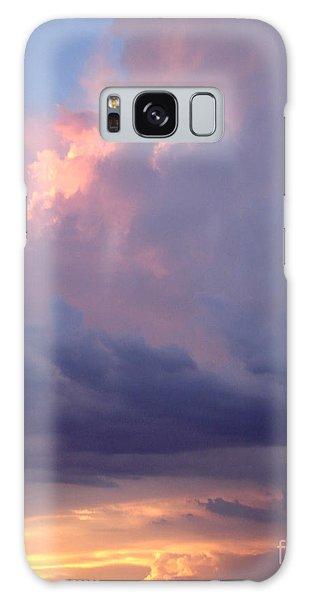 Desert Rainstorm 6 Galaxy Case