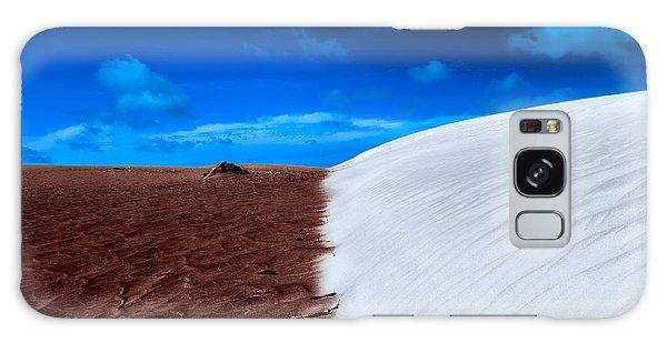 Desert Sand And Sky Galaxy Case
